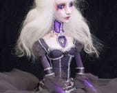 Easter Sale**** Ends April 16 OOAK Lady Amalthea The Last Unicorn Handmade Art Doll by Majestic Thorns
