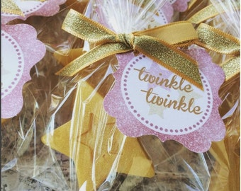 10 Star Soap Favors - Twinkle Twinkle Little Star Baby Shower, Star Birthday Party Soap Favors, RockStar, Gender Reveal, Princess Soap Favor