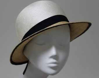 The Caramelle Cloche  Hat - Summer Cloche - Wedding Hat