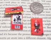 Miniature Book / Don Quixote de la Mancha by Miguel de Cervantes Saavedra / Tiny Book / 1:6 sixth scale mini book / playscale / Sancho Panza