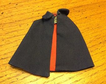 Mattel Barbie Nurse Cape Navy and Red