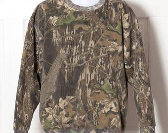 90s Camouflage Sweatshirt