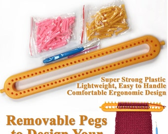 Boye Long Loom Knitting Patterns : Knifty knitter Etsy