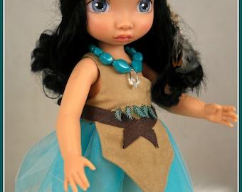 "Disney Animator Doll Repaint Pocahontos 16"" by Jemilynndolls Ready To Ship"