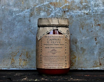 Capperi e Olive Tomate Sauce - Napolitan Sauce