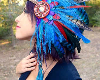 TRIBAL GODDESS Hair Clip Headdress SALE