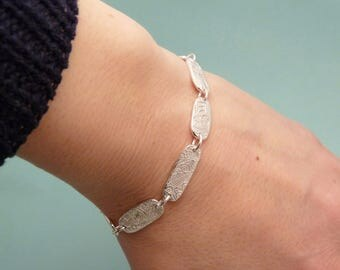 Silver Sunrise Bracelet - One of a Kind