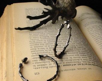 Gothic Jewelry, Thorn Jewelry, Thorn Earrings, Vampire Jewelry, Goth Jewelry, Twilight Jewelry, Gothic, Vampire, Dark, Earrings