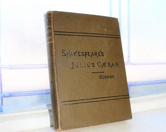 Antique 1894 Book Julius Caesar Shakespeare