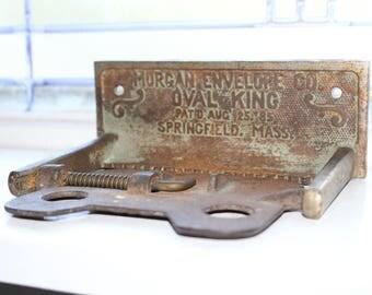 Antique Architectural Salvage Toilet Paper Holder Cast Iron 1885