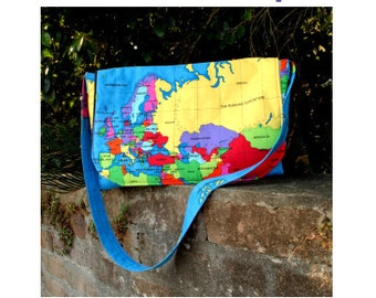Mercator Messenger Bag - PDF pattern