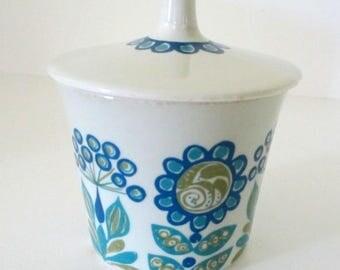 Scandinavian Mod Figgjo Flint Norway Sugar Bowl - Turi Design