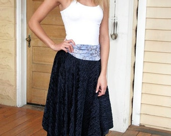 Upcycled dress poncho skirt 3 ways to wear this piece travel trendy cottage girl bohemian Lagenlook Eco fashion multi wear By Upcycled Swag