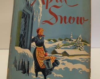 Vintage April Snow by Lillian Budd