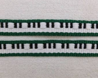 "Festus - Handwoven Pick Up Inkle Trim (5/8"" wide)"
