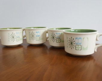 Set of 4 Taylorstone Cathay Coffee and Tea Mugs