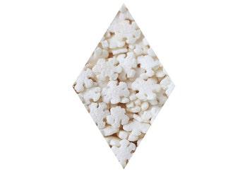 Pearl Snowflake Confetti Sprinkles - 2 oz