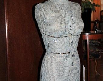 SALE! True Vintage Seamstress Completely Adjustable Mannequin