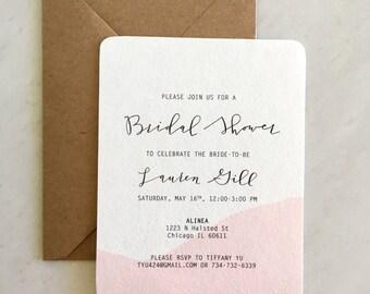 Bridal Shower / Bachelorette Party Invitations, Invites