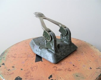1950s Acco Hole Puncher Two Hole Heavy Duty Industrial Office Supplies