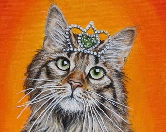 Kitty in a Crown