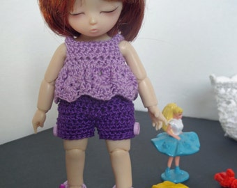 Purple set for AI BJD