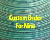 Custom Order For Nina - Personalized Hanging Name Sign - 5 inch