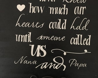 Nana and papa love