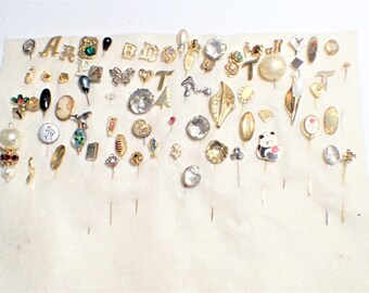 Lot Of Over Seventy Various StickPins