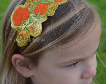 Princess Elena inspired flower headband, Elena of avalor, elena birthday, elena dress up