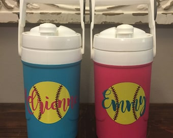 Personalized 1/2 Gallon Insulated Water Jug
