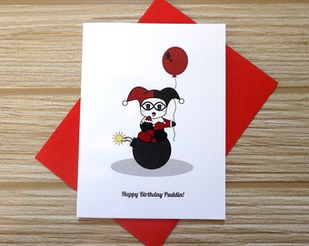 Happy Birthday Puddin Card