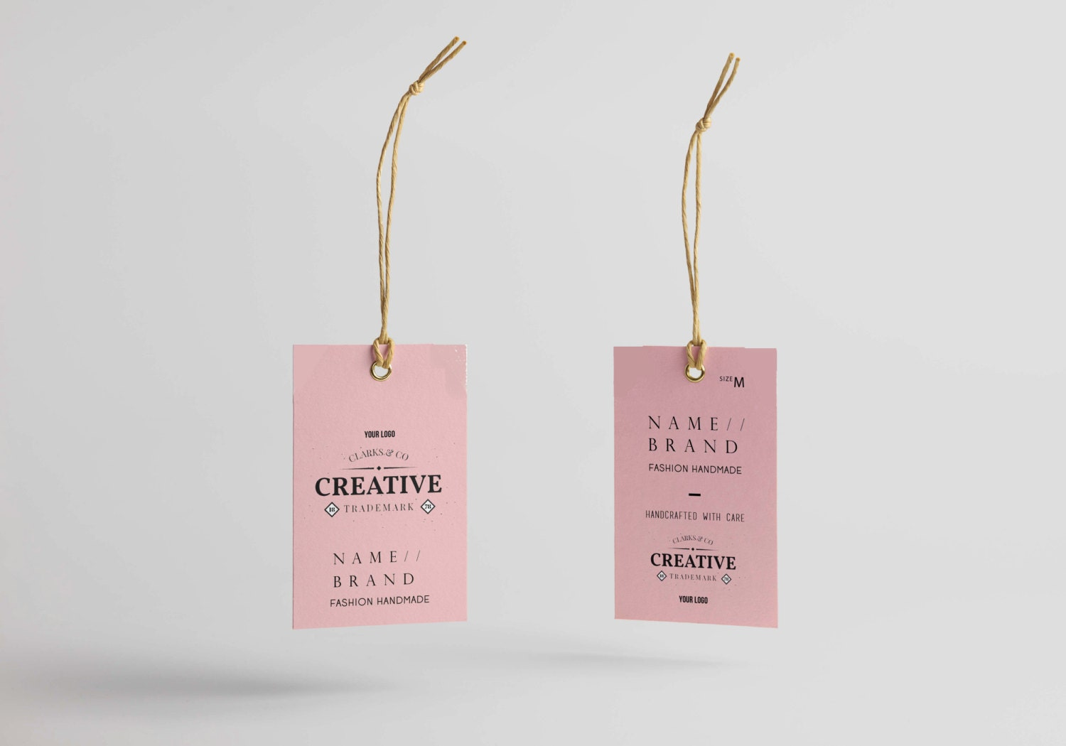 Hang Tag Custom Clothing Label Printable Custom Labels