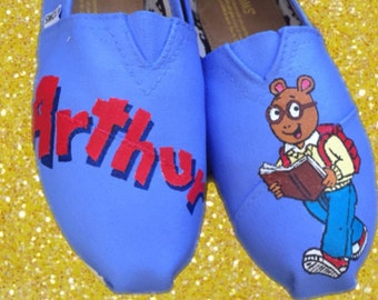 Arthur Toms. Can Be Made W Different Color Background [arthur & friends] Arthur Shoes.