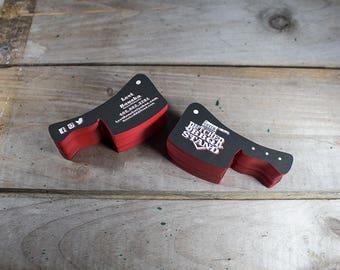 Custom shape die cut stickers printing 100 custom shaped business cards die cut business cards 250 500 1000 printing colourmoves