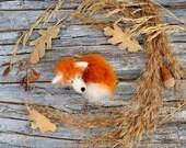 Volpe peluche animali fatti a mano fox amante degli animali regalo per sua volpe regalo compleanno regalo idee kawaii peluche carino