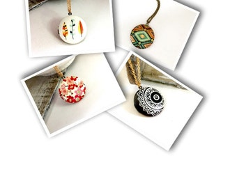 Long Antique Round Locket Necklace, Very Popular, Long Round Gold Locket Necklace, Bohemian Long Locket, Round Gold Brass Picture Locket