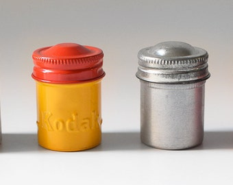 Vintage Film Canisters Kodak & Others