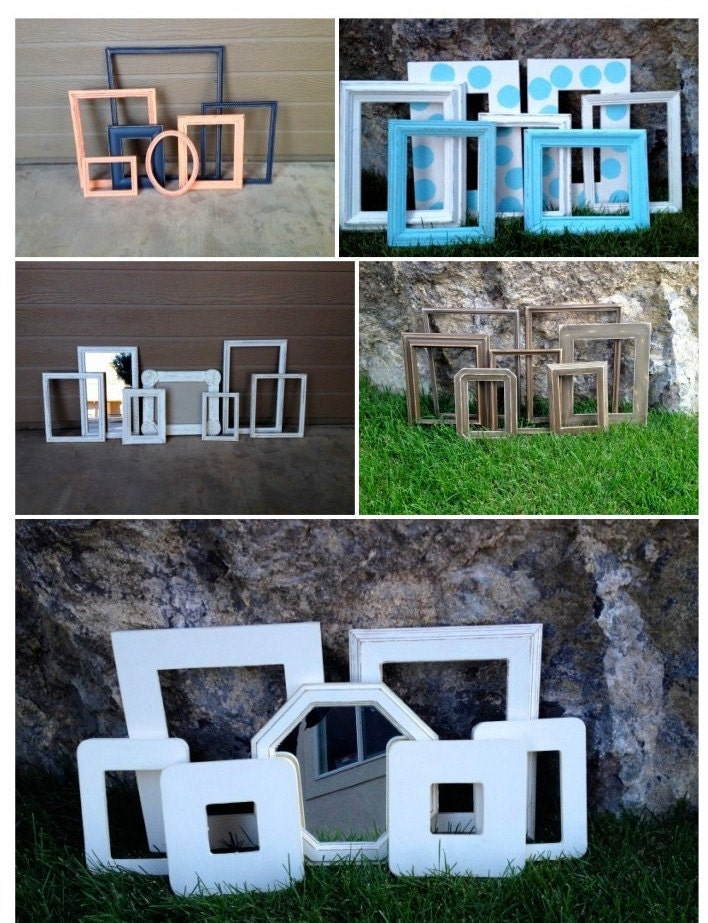 7 picture frames without glass or backing you choose sizing - Picture frame without glass ...