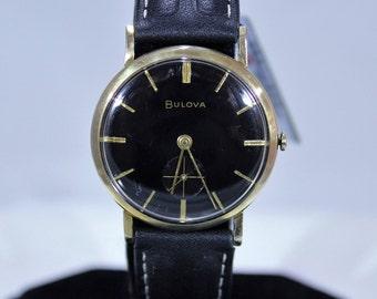 Elegant Men's Vintage 1970 Bulova 17Jewels Mechanical Watch