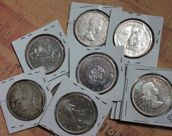 Canadian Silver Dollar c1950sthru60s