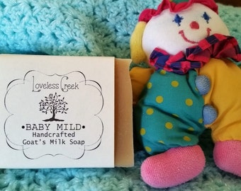 Loveless Creek Baby Mild Goat's Milk Soap