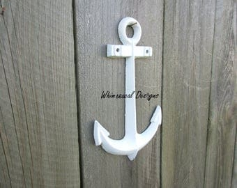 Cast Iron Anchor, Anchor Wall Decor, Beach Decor, Beach Bathroom, Nautical  Decor, Nautical Bathroom, Nautical Nursery