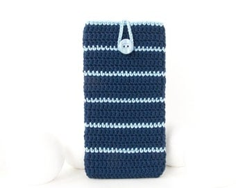 Yale Blue Moto G5 phone cover, Blue Sony Z5 case, Samsung S8 case, Nexus 5 cozy, LG G5 pouch, vegan iPhone SE, HTC A9 cover, BlackBerry Priv