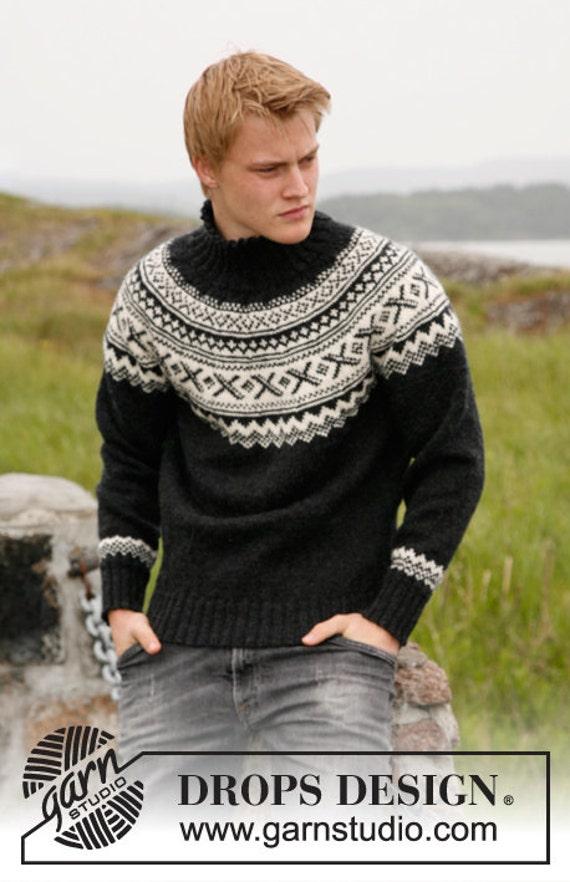 Ugly xmas jumper ugly sweater Fair isle men sweater custom