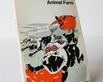 Animal Farm George Orwell Penguin Paperback Book 1968 Classic Vintage Books Fiction