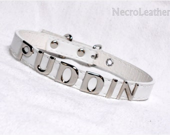 Harley Quinn Puddin Choker - Customizable Faux Leather Suicide Squad Collar