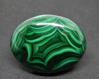 natural malachite cabochon shape, malachite gemstone cabochon, large oval cabochon, green stone cabochon