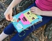 Cora's Quiet Book - DIY Pattern * Quiet Book Pattern * Toy Pattern * Heirloom Toy * Felt Book * Kids' Toys