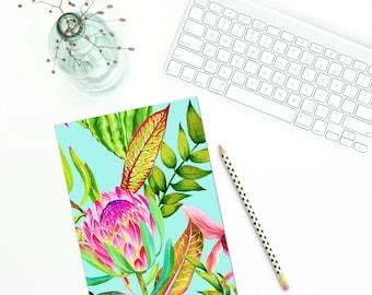 Notebook - BLUE FLORAL